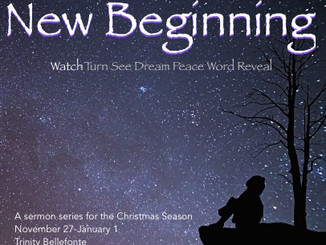 sermon: new beginning: watch (advent 1)