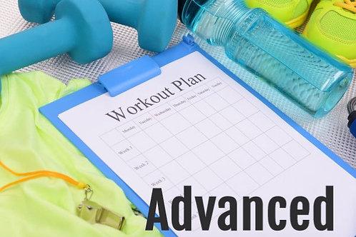 General Workout Plan - Advanced