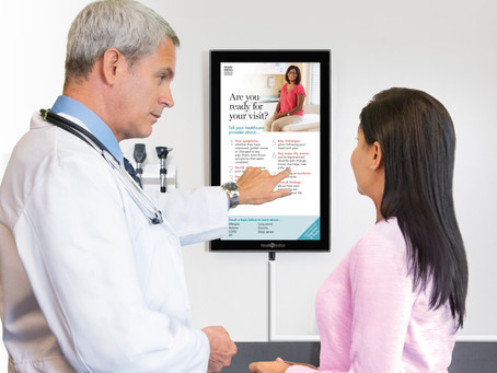 Digital Exam Room Posters – The Right Place; The Right Moment; The Right Message