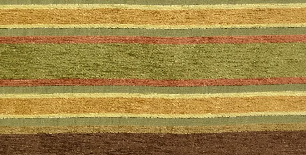 Stripe - Green - Brown