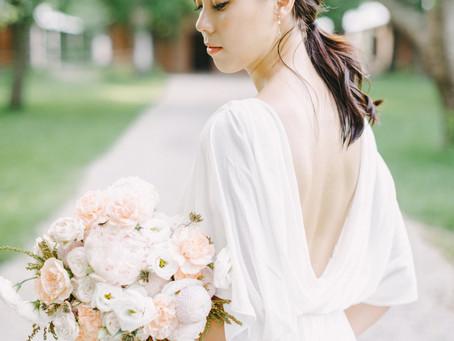 台中新秘推薦/美式婚紗/美式造型/婚紗捧花/顏氏牧場/映目婚紗