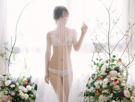 台中新秘推薦/Boudoir閨房寫真/美式婚紗/美式妝髮/美式花藝