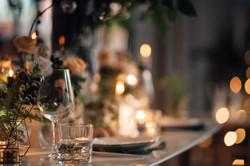 餐桌花藝佈置設計