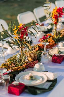 戶外婚禮花藝佈置設計