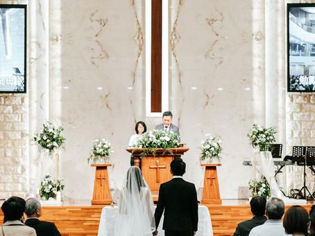 教會花藝佈置推薦/教會婚禮/新娘捧花/美式風格/高雄武昌教會