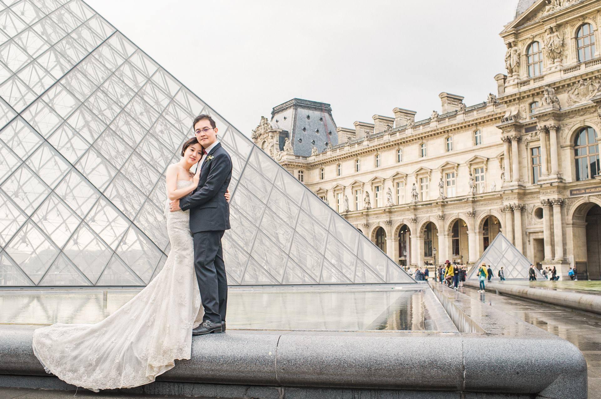 海外婚紗新秘/法國巴黎Paris