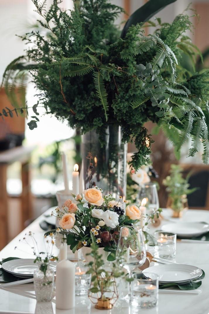 婚禮花藝佈置設計