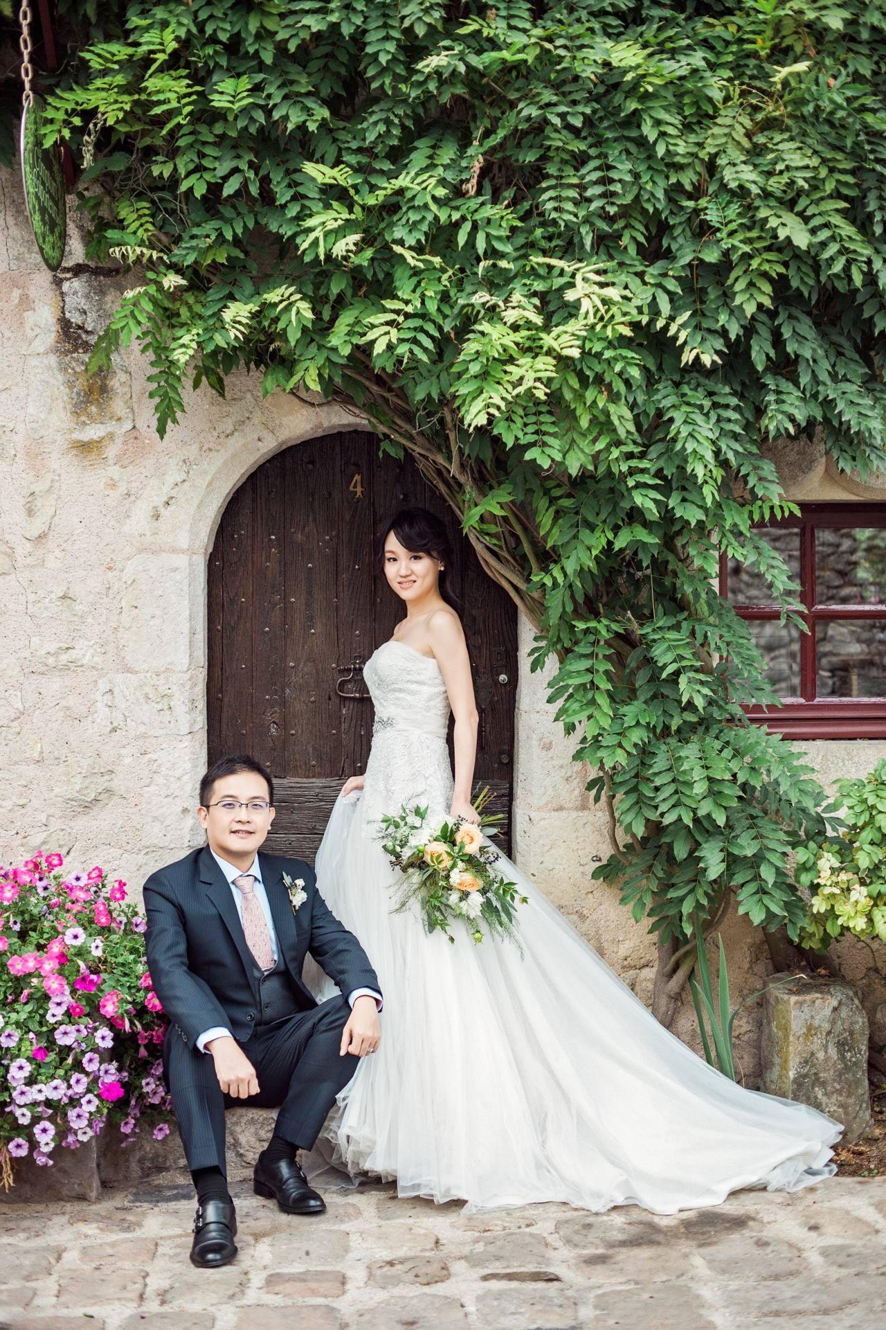 海外婚紗新秘/南法普羅Provins