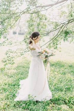 Engagement/美式婚紗新秘