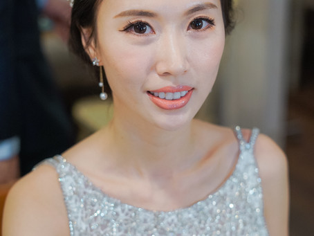 台中新秘推薦/美式婚禮/美式妝髮/美式風格/心之芳庭