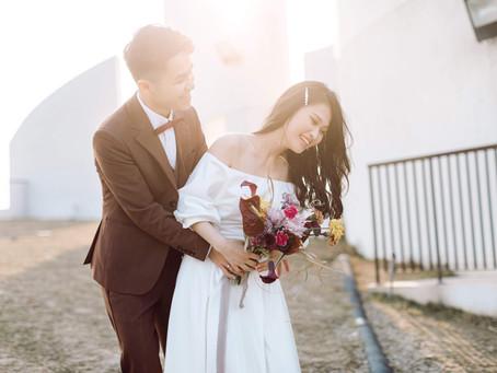台中新秘推薦/美式婚紗/自然髮型/白色海豚屋