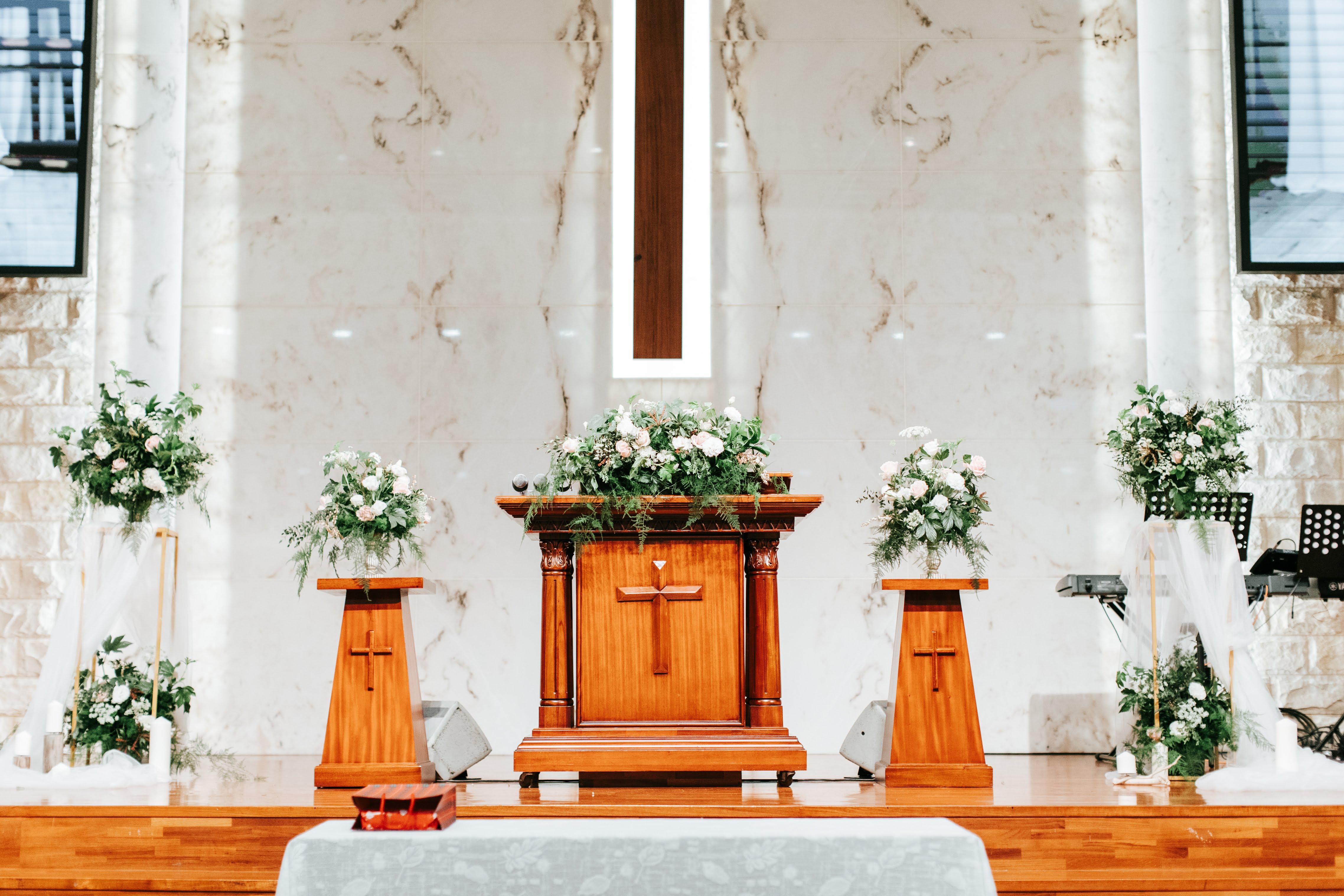 教會花藝佈置設計