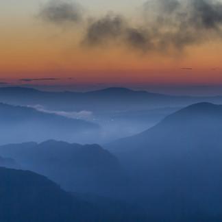 Morning in Montserrat, Spain