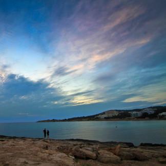 Random Couple in Ibiza, Spain