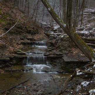 Waterfall & Snowfall