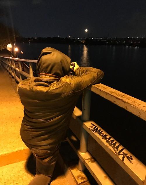 Full Moon Rising in NYC