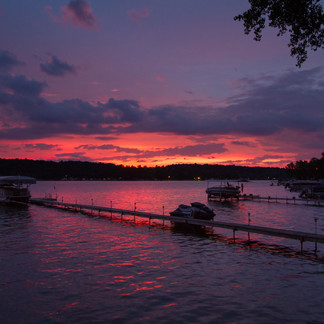 Conesus Lake Sunset