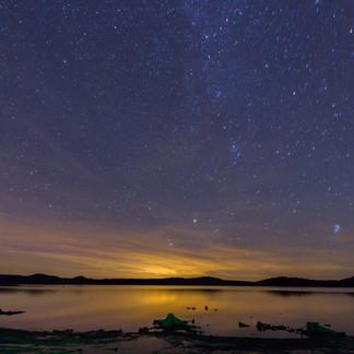 Adirondack Sky at Night