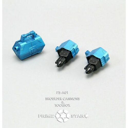 Prime Star - PS-A01 - Shoulder Cannons/Toolbox for MP-20