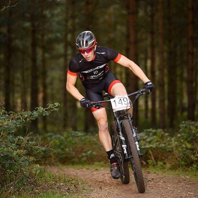 Tom Knight corning, HSBC UK National Cross Country Sherwood Pines
