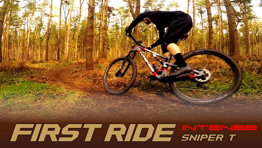 First Ride - INTENSE Sniper T
