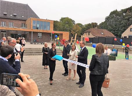 Opening nieuwe kleuterschool 22/09/2018