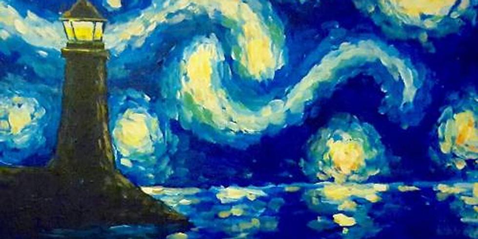 Starry Night Lighthouse - $3 Sangrias