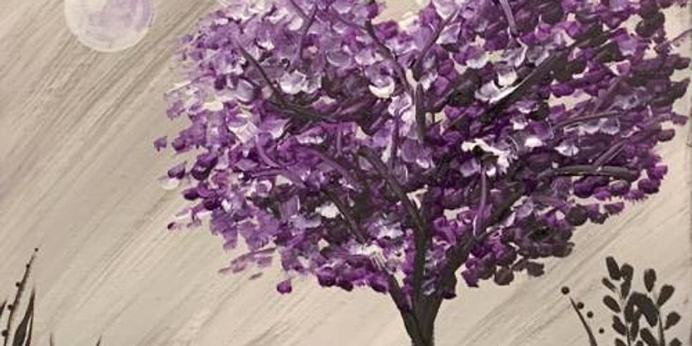 Purple Tree - Family Class $29