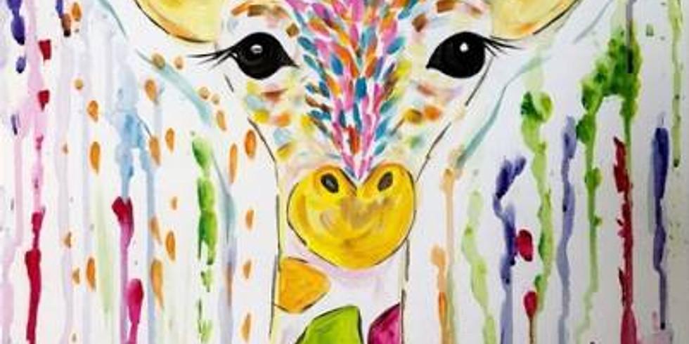Colorful Giraffe - Family Class