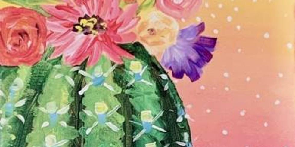 Blooming Cactus - Portland