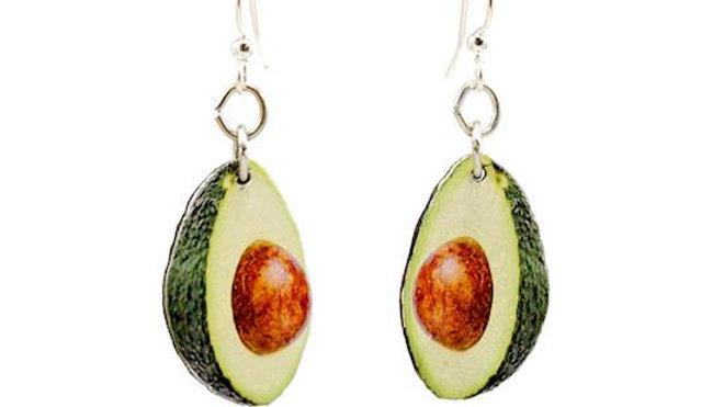 Avocado Earrings #1579