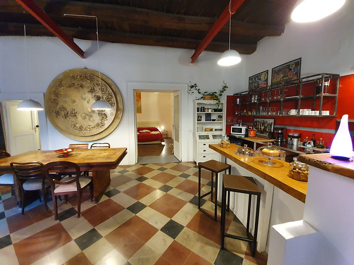 ingresso su cucina del primo piano
