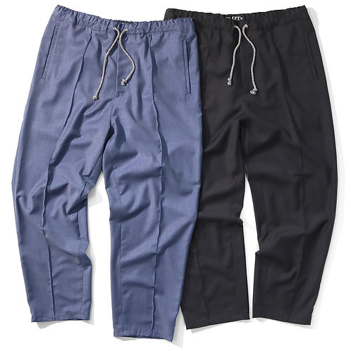 """""""RAYON TWILL  WIDE EAZY PANTS / SUELTO"""""""