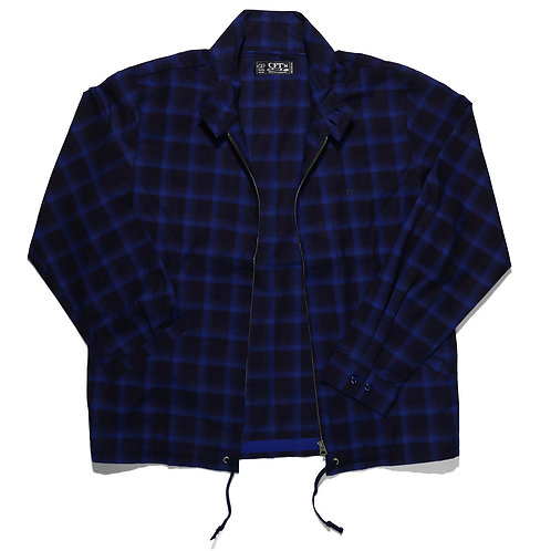 """INDIGO CHECK DC SWING TOP"""