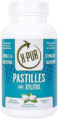 X-PUR Pastilles (mint) 100% Xylitol - Big Bottles