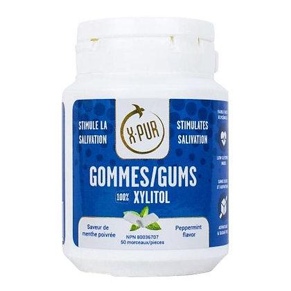 X-PUR Gums 100% Xylitol (mint)