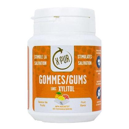 X-PUR Gums 100% Xylitol (fruit)