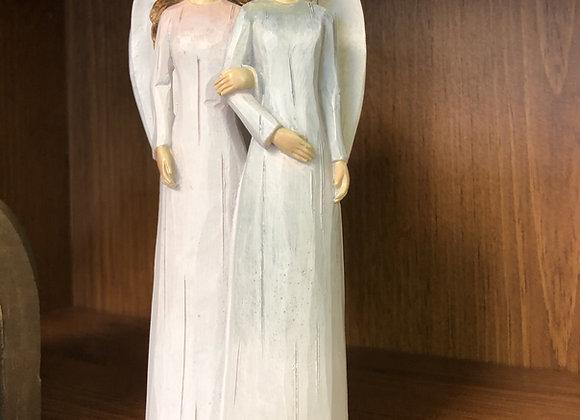 Two Girls Figurine