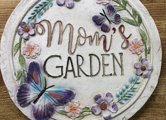 Mom's Garden Plaque