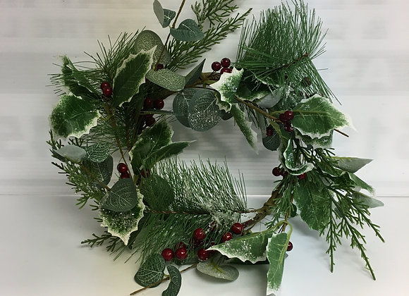 Small Wreath with Red Berries