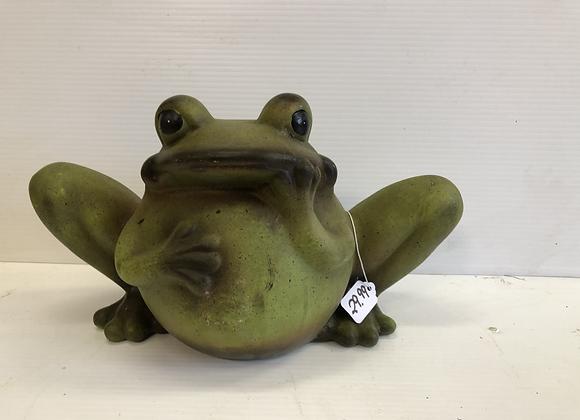 Ceramic Garden Frog