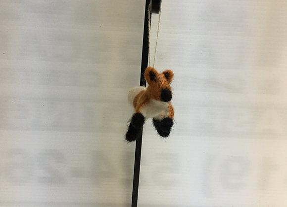 Fox Tree Ornament