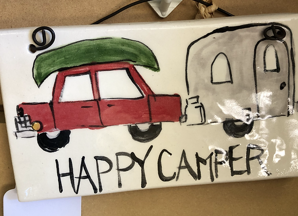 Happy Camper Sign #1