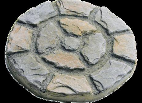 Roman Circle Stepping Stone