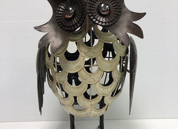 Metal Garden Owl