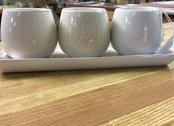 Small Ceramic Planters