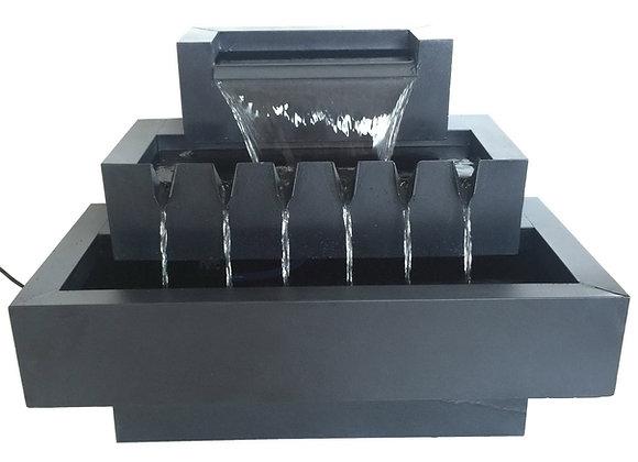 Multi Level Zinc Metal Fountain