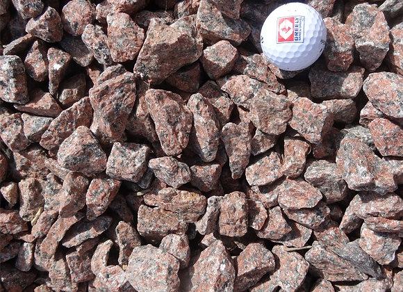 Bagged Red Granite