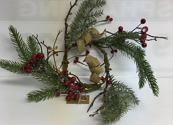 Mini Wreath with Berries