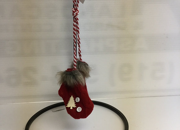 Red Mitts Tree Ornament